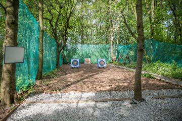 Archery range Hazlewood