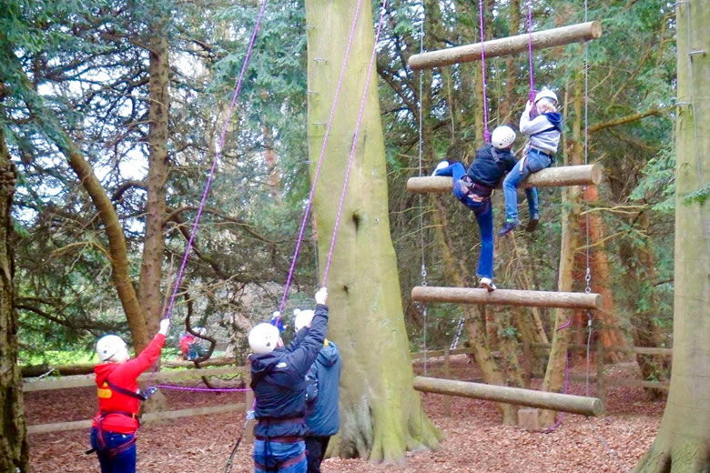 High Ropes In Harrogate And The Yorkshire Dales Live For