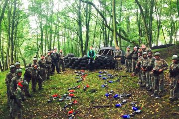 Leeds Paintballing Stag Do
