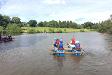 Raft Building Yorkshire