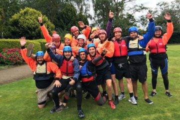 Stag Party Raft Building