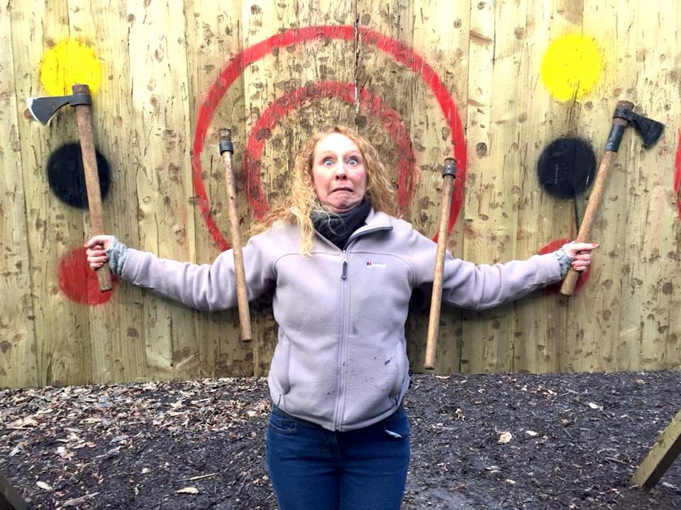Live For Today Axe Throwing