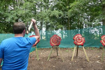 Stag Party Axe Throwing