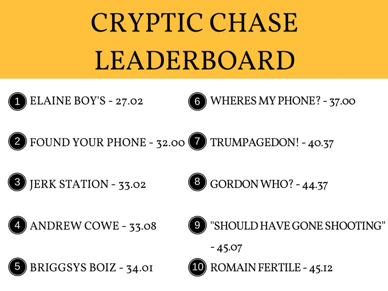 Cryptic Chase