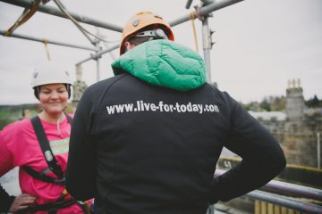 Live For Today Abseil