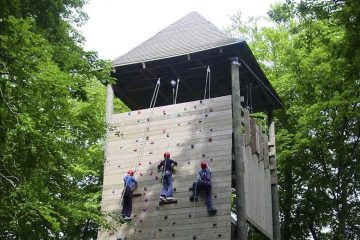 Our Climbing Wall Kendal