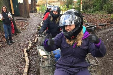 Hen Quad Biking