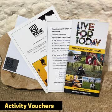 Activity Vouchers