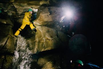 Caving in Yorkshire