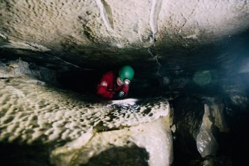 Extreme Caving in Yorkshire Dales