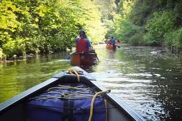 Canoe Trip Yorkshire
