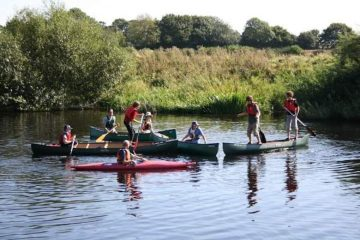 Group Canoeing Yorkshire