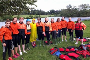 Hen Party Canoeing