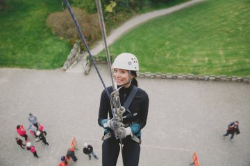abseiling yorkshire