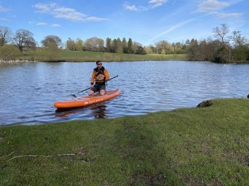 Paddle Boarding in Yorkshire